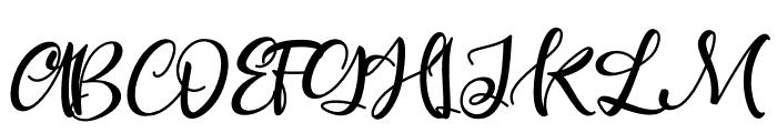 Ballisty Font UPPERCASE