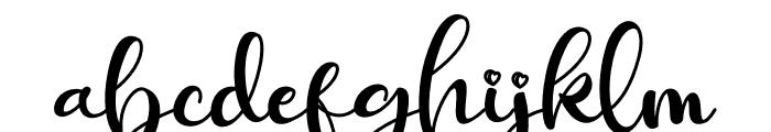 Ballisty Font LOWERCASE