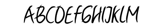 Ballyst Font UPPERCASE