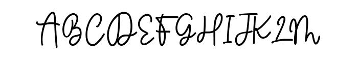 Balmonde Font UPPERCASE