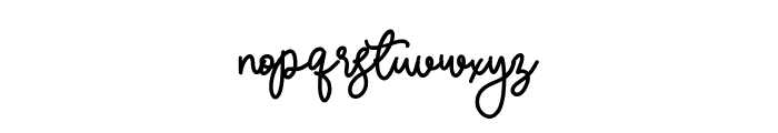 Balmonde Font LOWERCASE