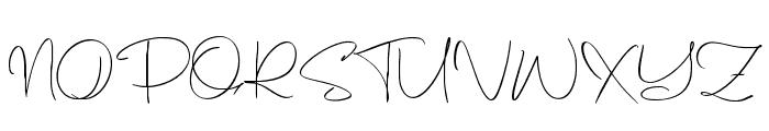Balmonte Font UPPERCASE