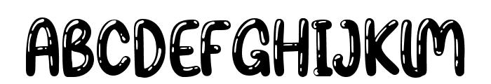 Balon Party Shinny Font UPPERCASE