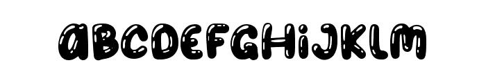 Balon Party Shinny Font LOWERCASE