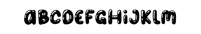 BalonPartyShinny Font LOWERCASE
