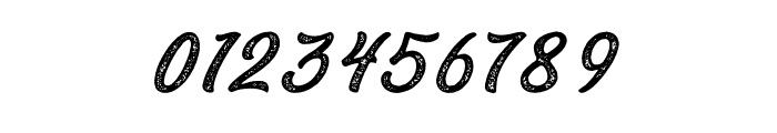 Bandira Script Rough Font OTHER CHARS