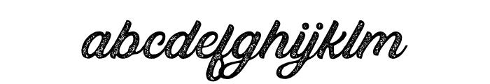 Bandira Script Rough Font LOWERCASE