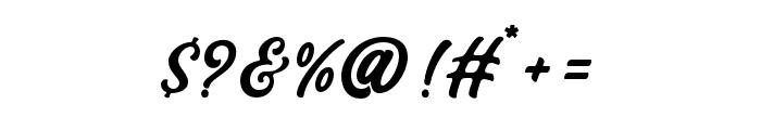 Bandira Script Font OTHER CHARS