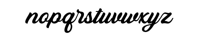 Bandira Script Font LOWERCASE