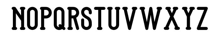 Bandonde Font UPPERCASE