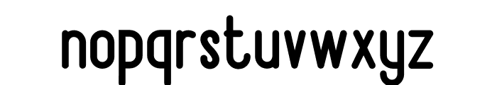 Bandonde Font LOWERCASE