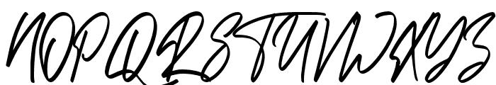 Bandoong Font UPPERCASE
