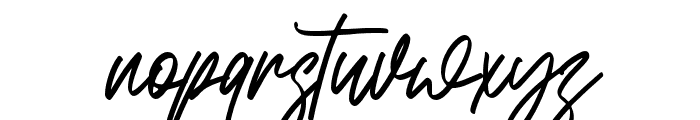 Bandoong Font LOWERCASE