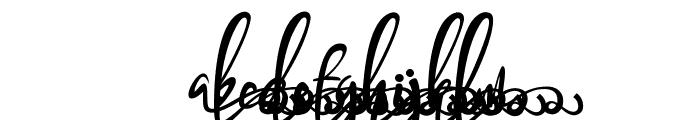 Bandrose Ornament 2 Font LOWERCASE