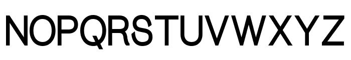 Bareal Font UPPERCASE