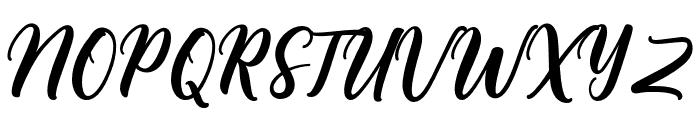 Bargain Font UPPERCASE