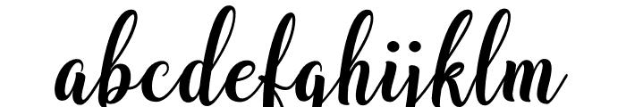 BargainScript Font LOWERCASE