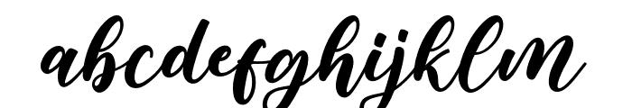 Bargain Font LOWERCASE