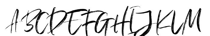 BargittaSVG-Regular Font UPPERCASE