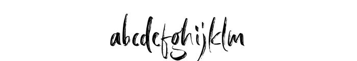 BargittaSVG-Regular Font LOWERCASE