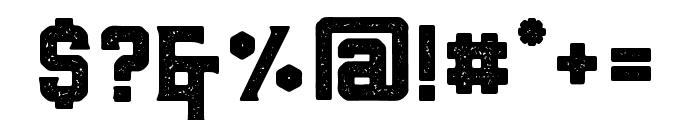 BarleyAged-Regular Font OTHER CHARS