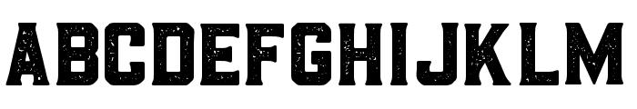 BarleyAged-Regular Font UPPERCASE
