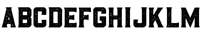 BarleyAged-Regular Font LOWERCASE