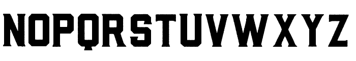 BarleyRough-Regular Font UPPERCASE