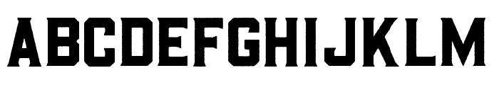 BarleyRough-Regular Font LOWERCASE