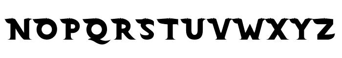 Barong Regular Two Font UPPERCASE