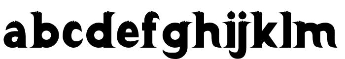 Barong Regular Two Font LOWERCASE