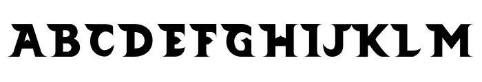 Barong Regular Font UPPERCASE