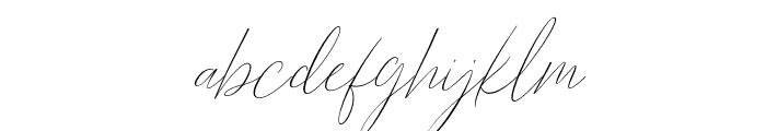 BarosakiSLant-Italic Font LOWERCASE