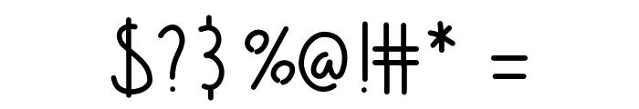 Barrel Font OTHER CHARS