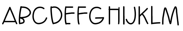 Barrel Font UPPERCASE