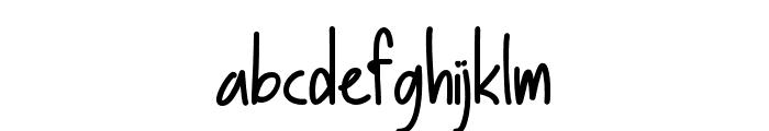 BasicallyYes Font LOWERCASE