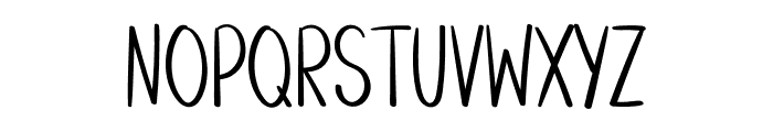 Basketball Font UPPERCASE