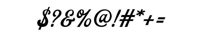 Batrider Font OTHER CHARS