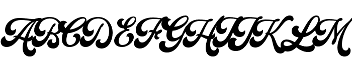 Batrider Font UPPERCASE