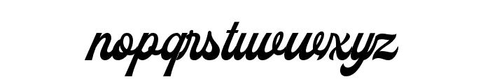 Batrider Font LOWERCASE