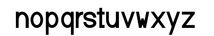 Baver Avalone Bold Font LOWERCASE
