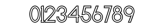 Baver Avalone Outline Regular Font OTHER CHARS