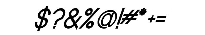 Baver Avalone Style Bold Italic Font OTHER CHARS