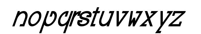 Baver Avalone Style Bold Italic Font LOWERCASE