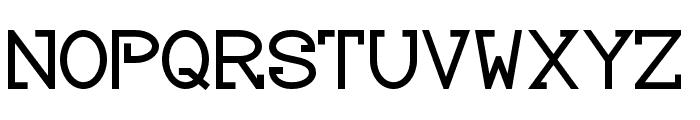 Baver Avalone Style Bold Font UPPERCASE