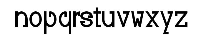 Baver Avalone Style Bold Font LOWERCASE