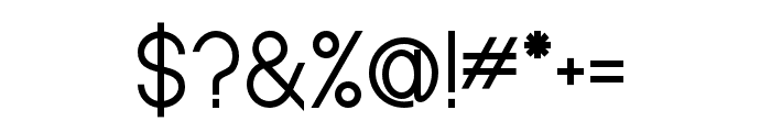 Baver Avalone Style Regular Font OTHER CHARS