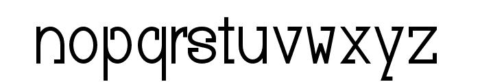 Baver Avalone Style Regular Font LOWERCASE