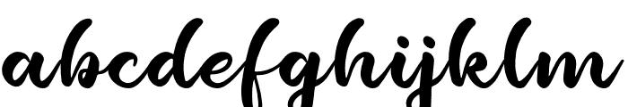 Bayshore Gardens Font LOWERCASE