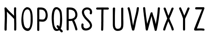 Baysoir Sans Regular Font UPPERCASE